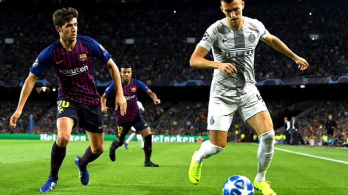 inter de milao x barcelona champions league 2019-2020