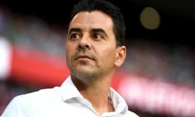 treinador Rayo Vallecano michel acerta na justica situacao