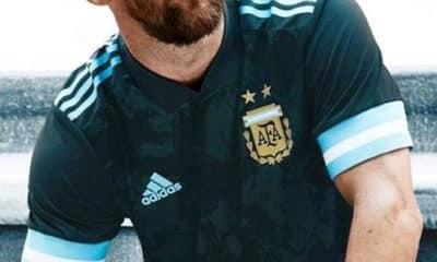 nova camisa reserva selecao argentina