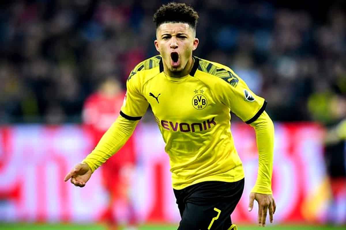 Borussia Dortmund Jadon Sancho deve permanecer