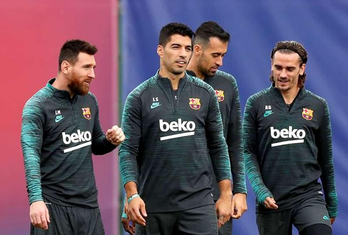 barcelona e real madrid retornam aos treinos