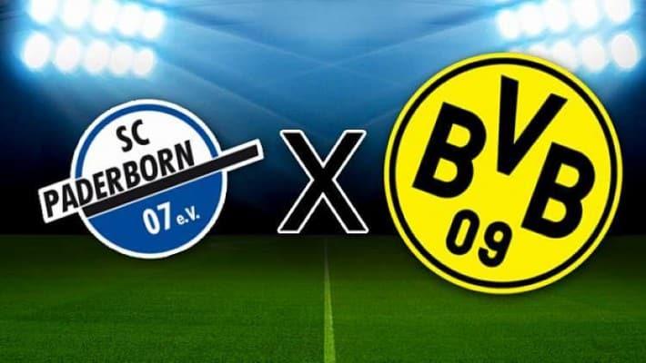 Paderborn x Borussia Dortmund: Live 1