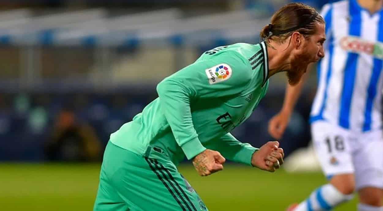 sergio ramos zagueiro recordista de gols na La Liga