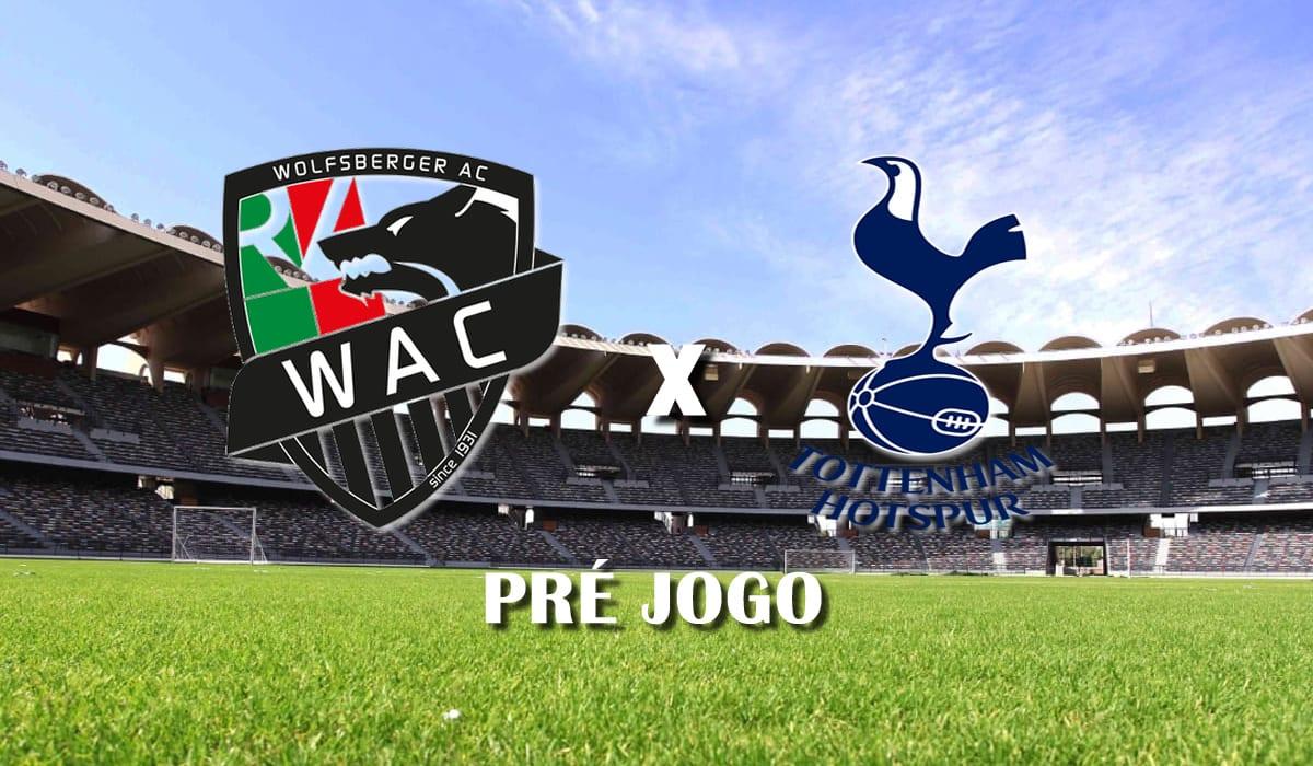 Wolfsberger x Tottenham pre jogo liga europa 18 de fevereiro