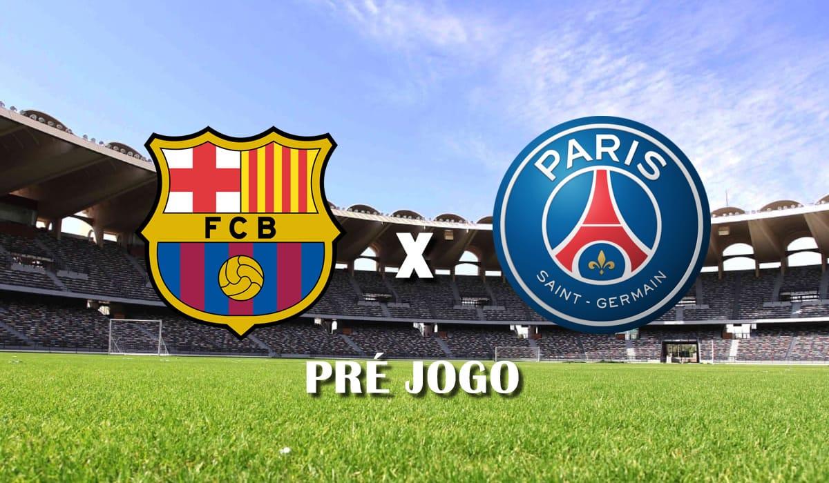 barcelona x psg pre jogo 16 fevereiro champions league