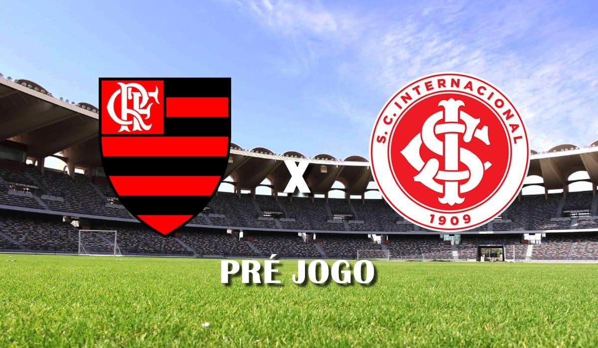 flamengo x internacional 21 de fevereiro campeonato brasileiro 2020 pre jogo