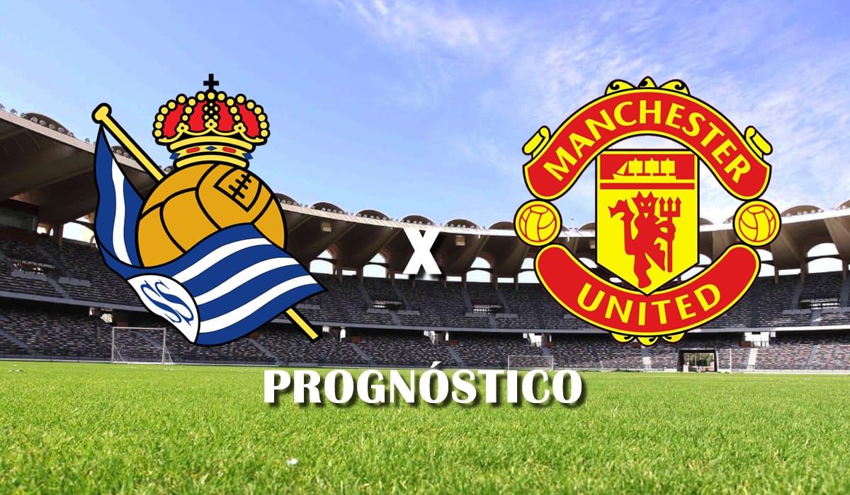 real sociedad x manchester united prognostico liga europa 18 de fevereiro