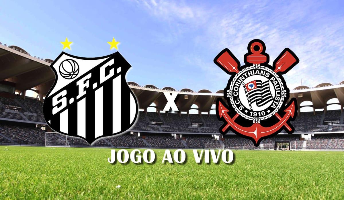 santos x corinthians brasileirao 17 fevereiro de 2021 jogo ao vivo