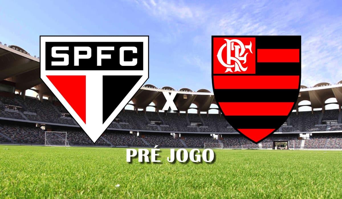 sao paulo x flamengo 25 fevereiro final brasileiro 2020 pre jogo