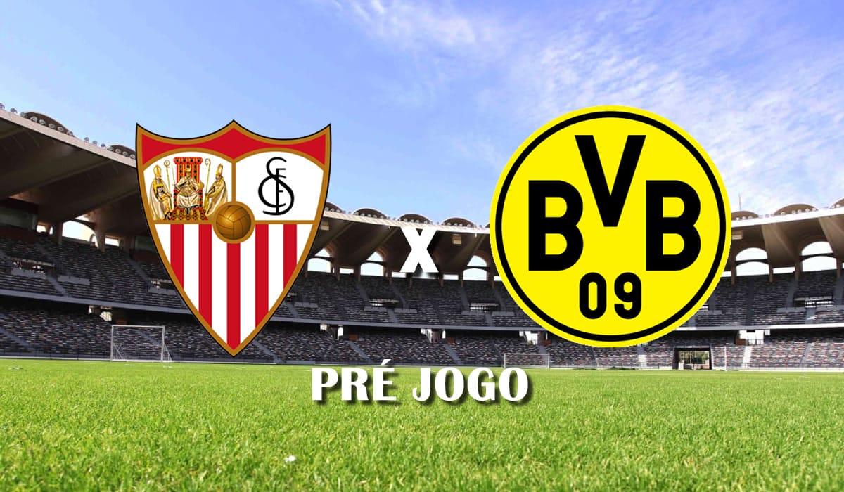 sevilla x borussia dortmund champions league pre jogo 17 de fevereiro