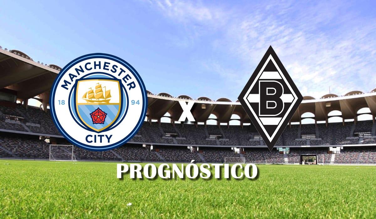 Manchester City x Borussia Monchengladbach segundo jogo oitavas de final champions league 2021 prognostico