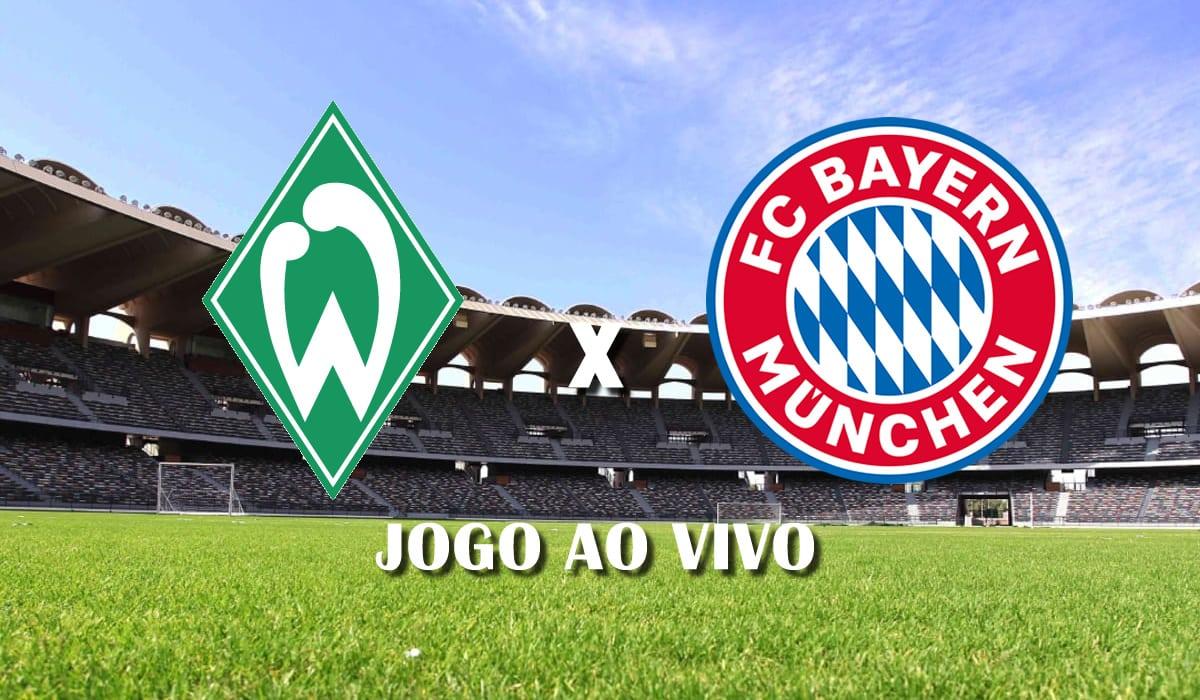 Werder Bremen x Bayern de Munique campeonato alemao bundesliga rodada 25 jogo ao vivo