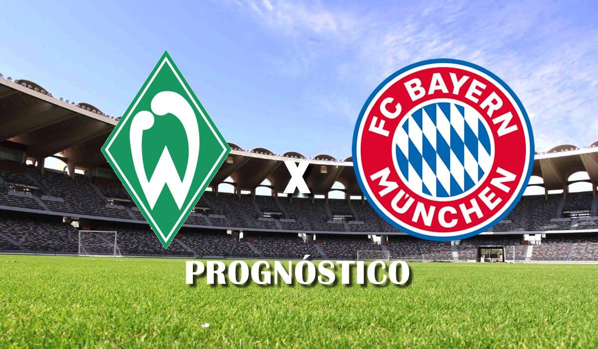 Werder Bremen x Bayern de Munique campeonato alemao bundesliga rodada 25 prognostico