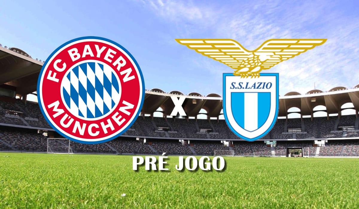 bayern de munique x lazio segundo jogo das oitavas de final da liga dos campeoes champions league 2021 pre jogo