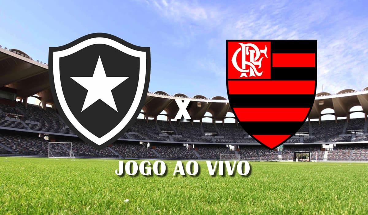 botafogo x flamengo campeonato carioca 2021 taca guanabara quinta rodada jogo ao vivo