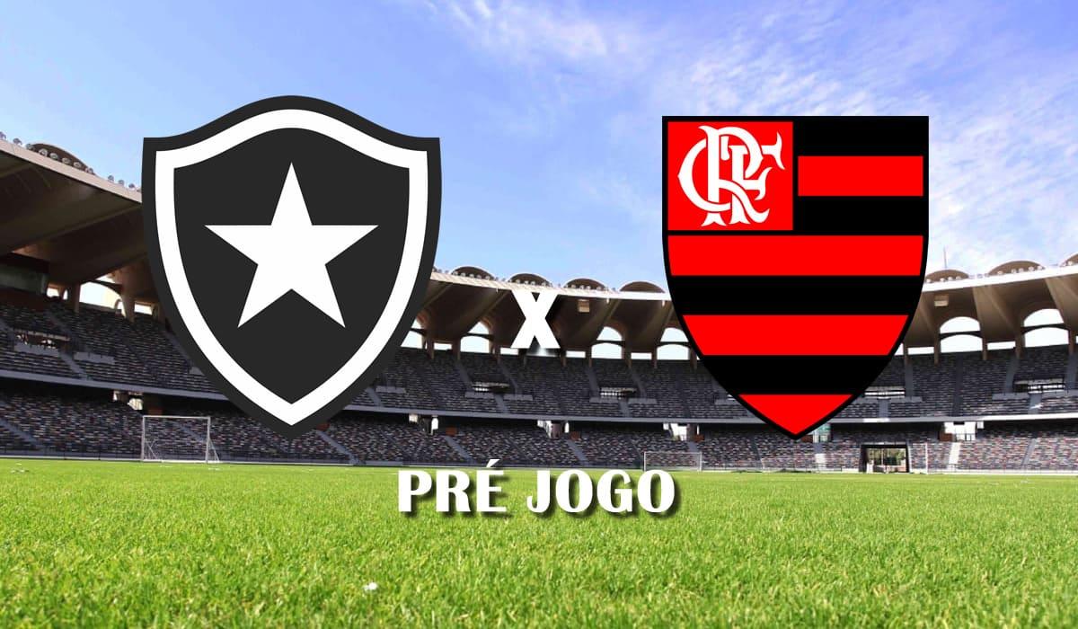botafogo x flamengo campeonato carioca 2021 taca guanabara quinta rodada pre jogo