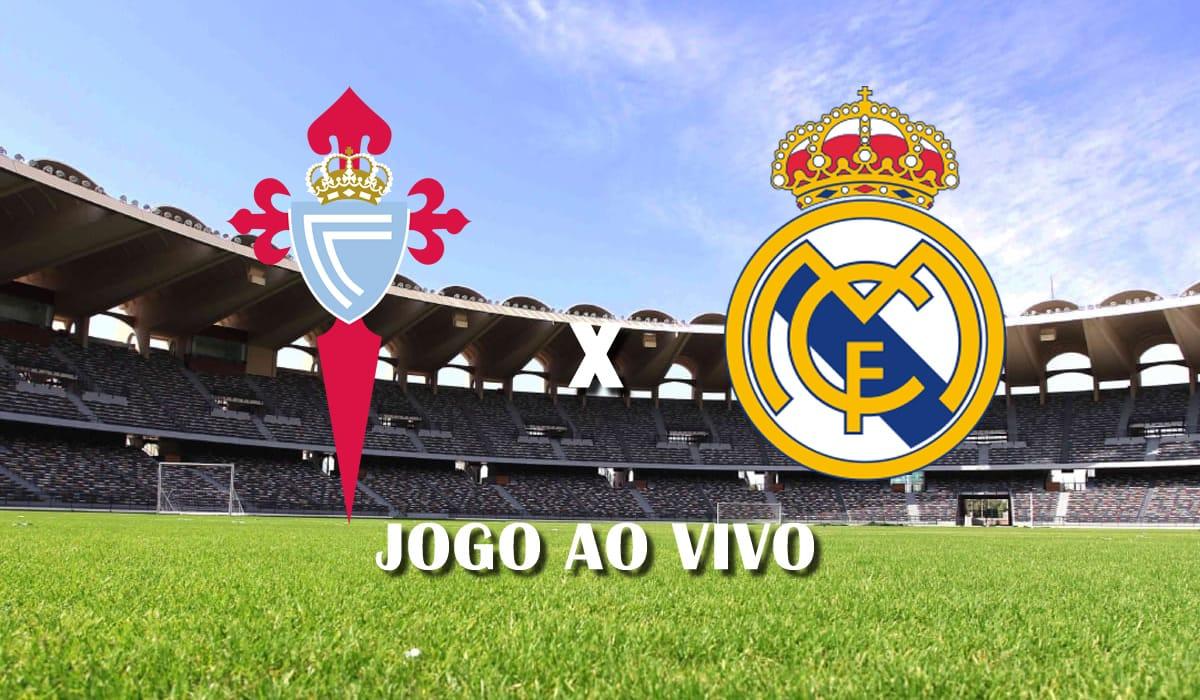 celta de vigo x real madrid campeonato espanhol la liga 28 rodada jogo ao vivo