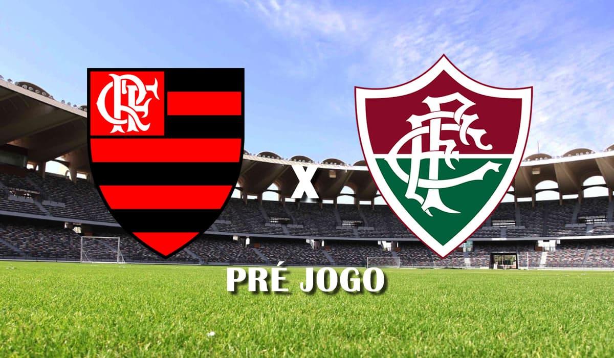 flamengo x fluminense terceira rodada cariocao campeonato carioca taca guanabara 2021 pré jogo