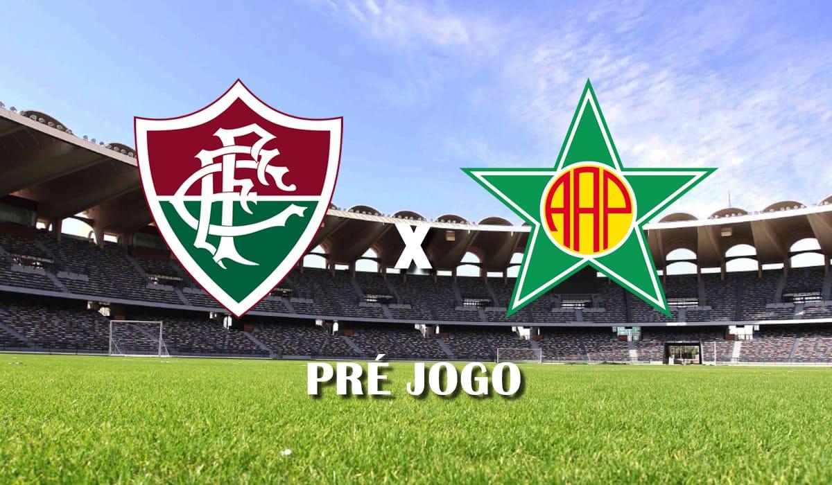fluminense x portuguesa rj campeonato carioca taca guanabara cariocao pre jogo