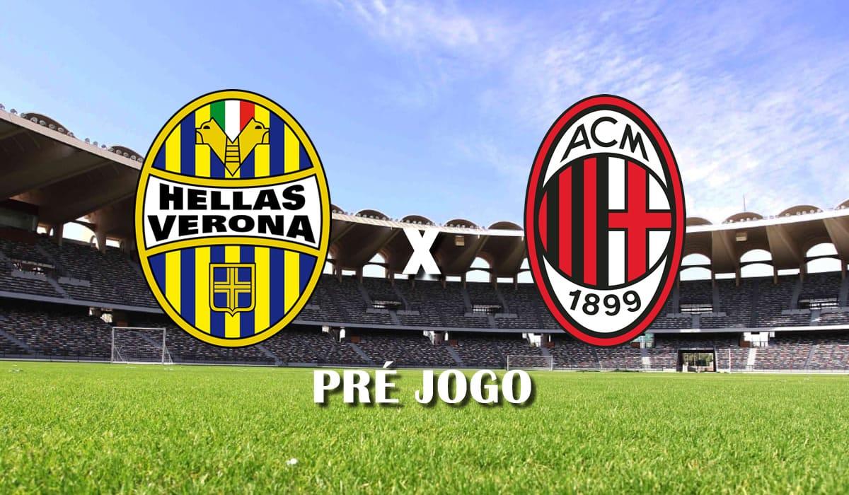 hellas verona x milan jogo campeonato italiano serie a 2021 pre jogo