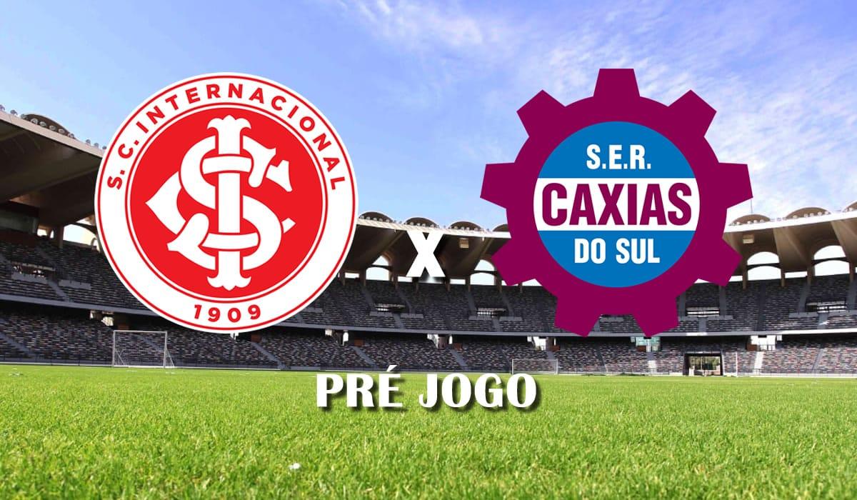 internacional x caxias quinta rodada campeonato gaucho 2021 pre jogo