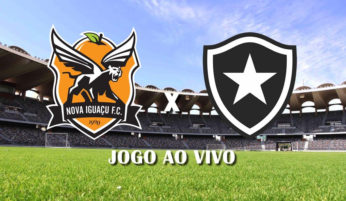 nova iguacu x botafogo campeonato carioca 2021 taca guanabara sexta rodada jogo ao vivo