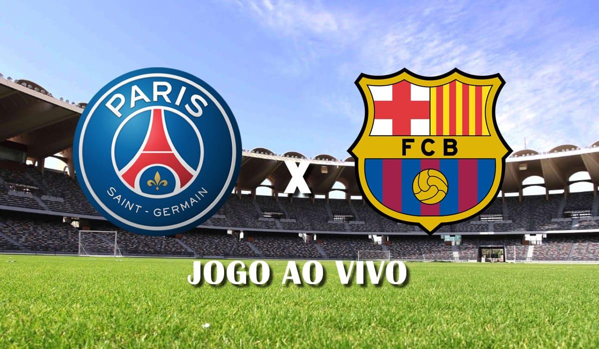 paris saint germain psg e barcelona champions league liga dos campeoes segundo jogo oitavas jogo ao vivo