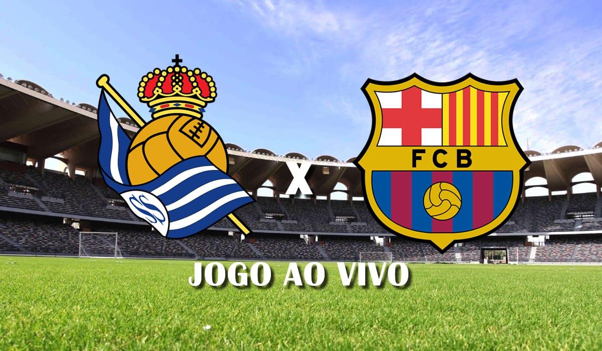 real sociedad x barcelona 28 rodada campeonato espanhol la liga 2021 jogo ao vivo