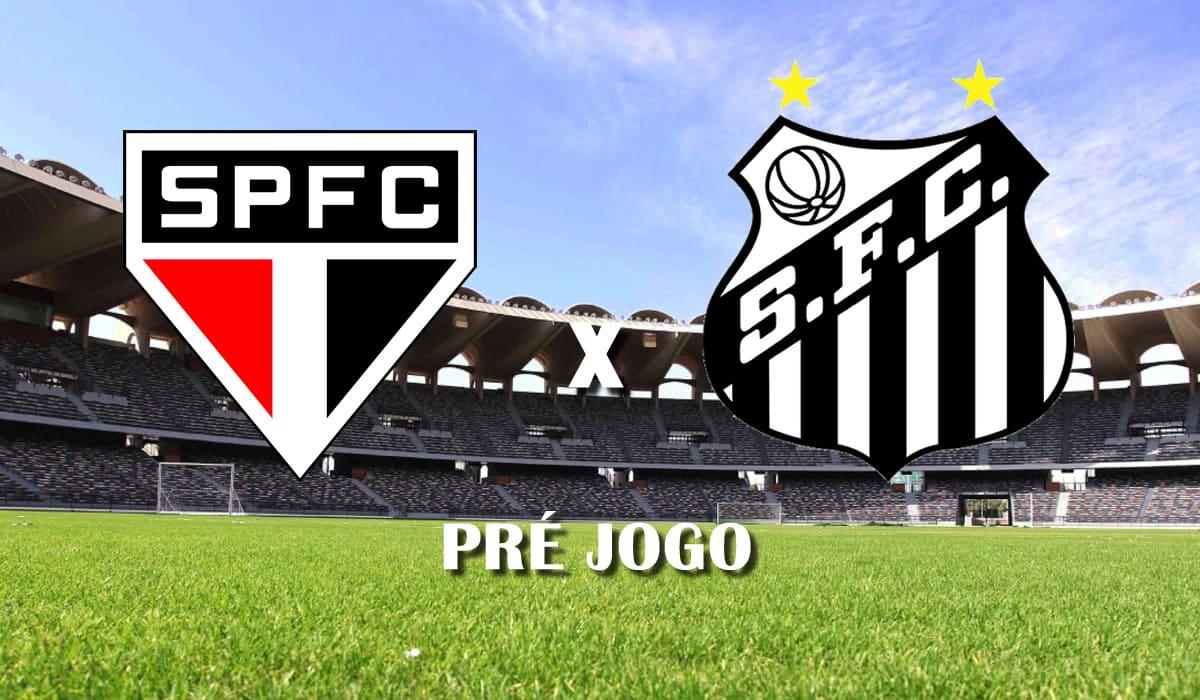 sao paulo x santos campeonato paulista paulistao 2021 pre jogo