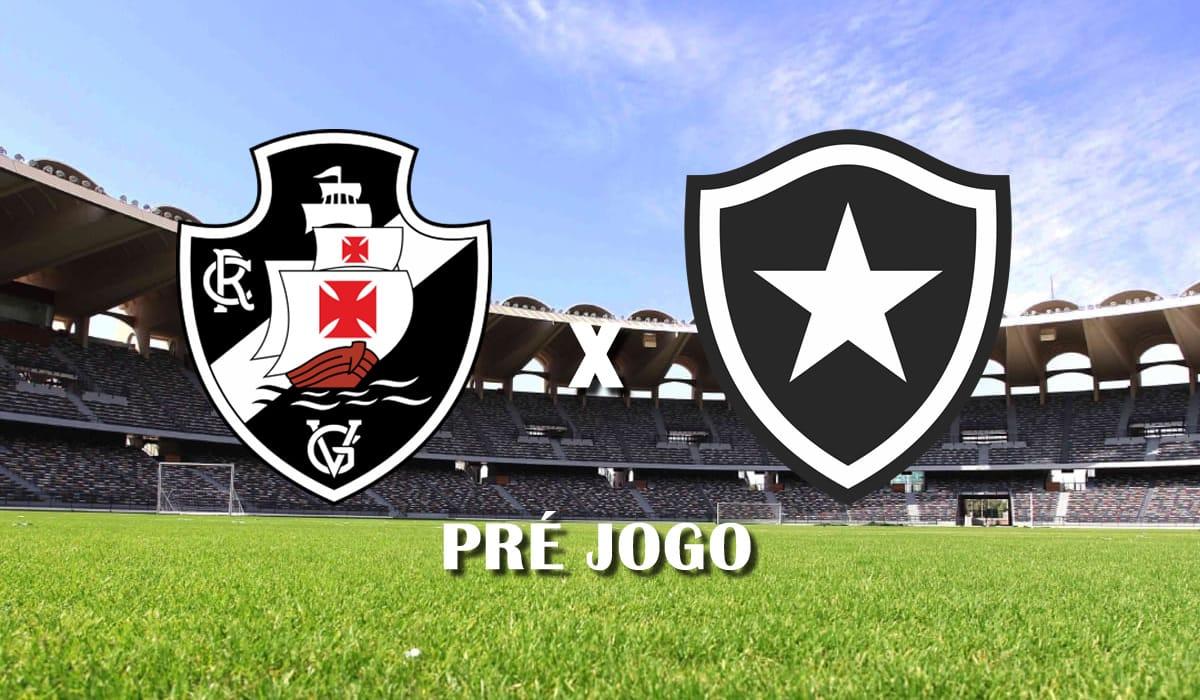 vasco x botafogo rj campeonato carioca taca guanabara 2021 quarta rodada pre jogo