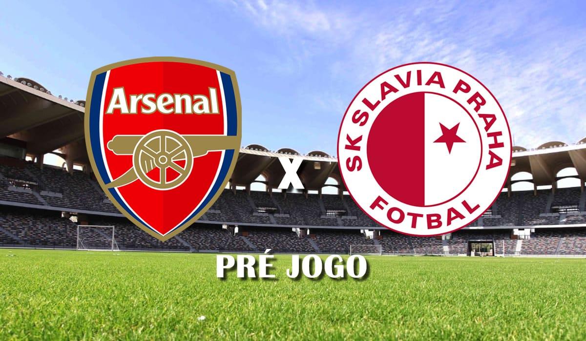arsenal x slavia praga europa league 2021 quartas de final jogo de ida pre jogo