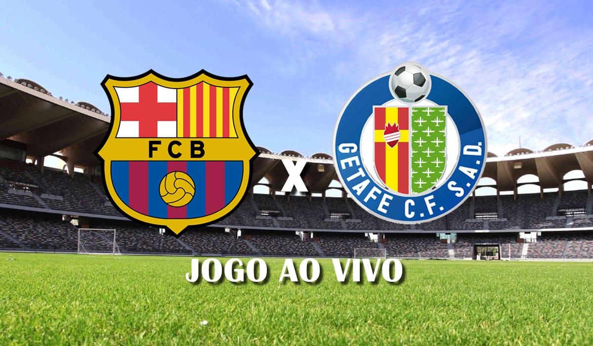 barcelona x getafe campeonato espanhol 2021 la liga 31 rodada jogo ao vivo