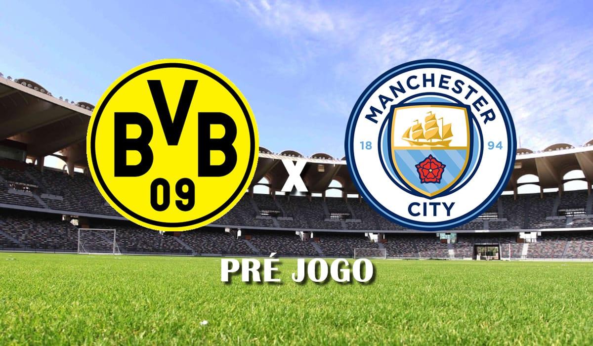 borussia dortmund x manchester city segundo jogo quartas de final champions league 2021 pre jogo