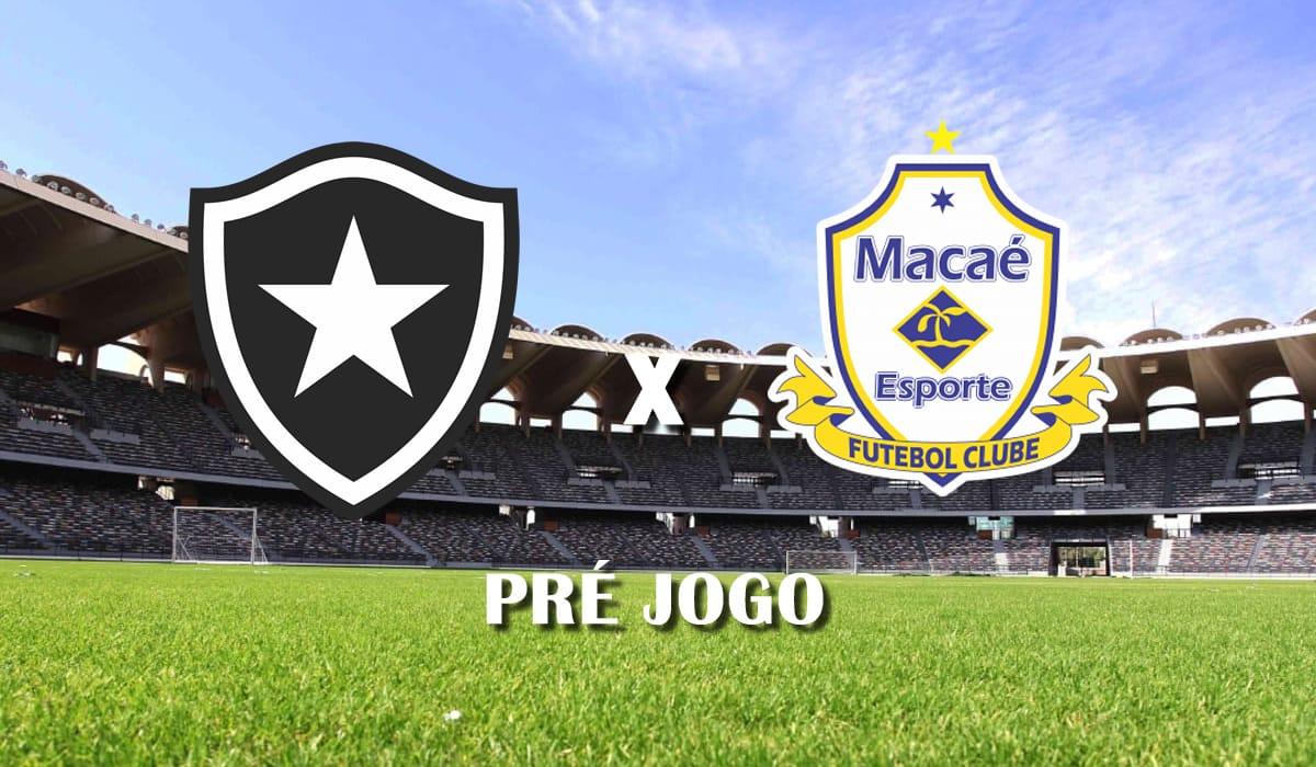 botafogo x macae campeonato carioca 11 rodada taca guabara 2021 pre jogo