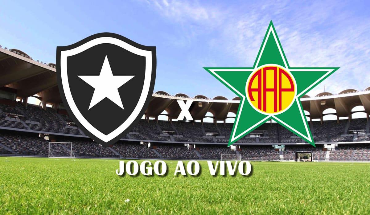 botafogo x portuguesa rj campeonato carioca taca guanabara 2021 oitava rodada jogo ao vivo