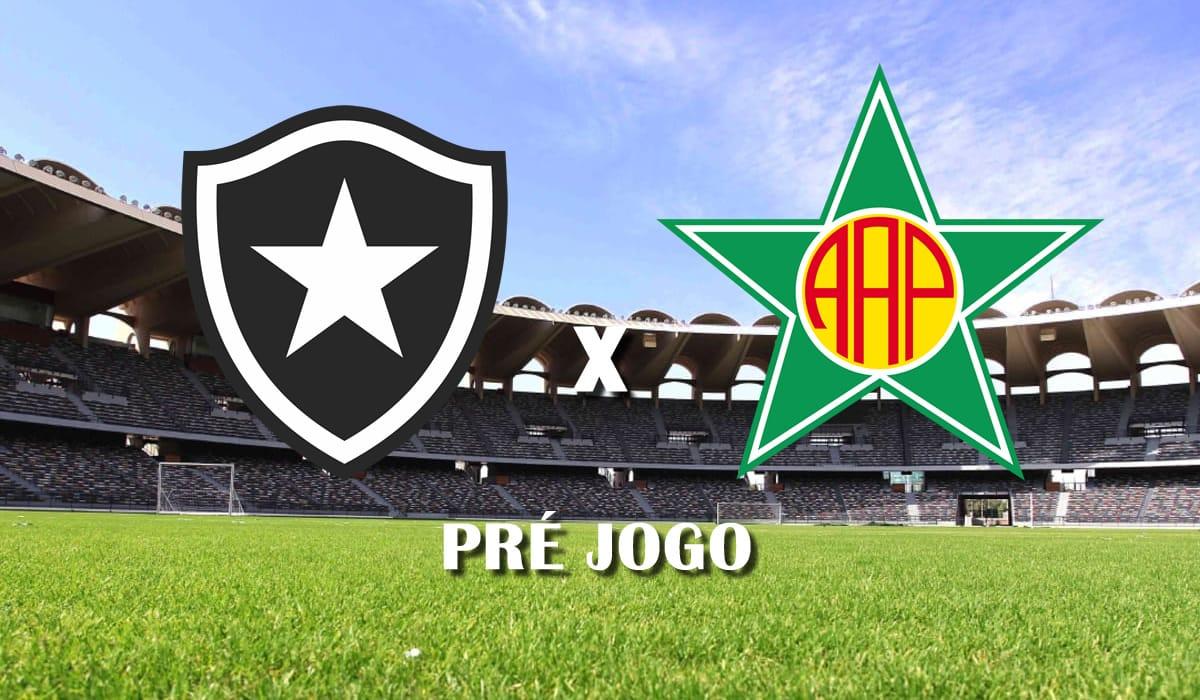 botafogo x portuguesa rj campeonato carioca taca guanabara 2021 oitava rodada pre jogo