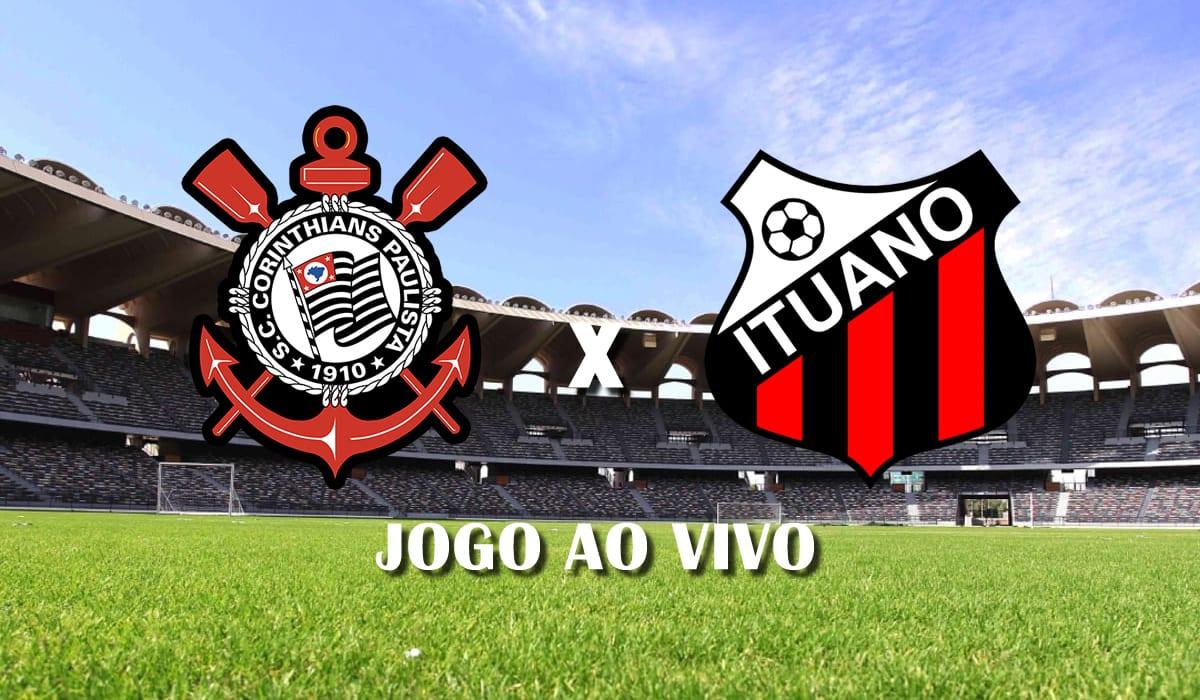 corinthians x ituano campeonato paulista 2021 paulistao a1 sexta rodada jogo ao vivo