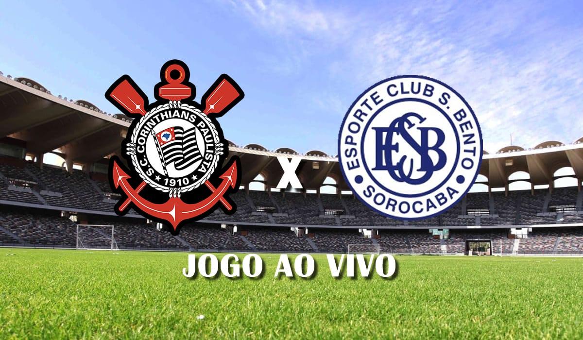 corinthians x sao bento 7 rodada campeonato paulista 2021 paulistao jogo ao vivo