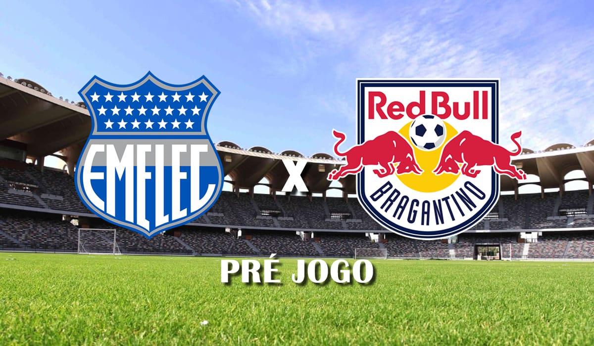 emelec x red bull bragantino segunda rodada copa sul americana 2021 pre jogo