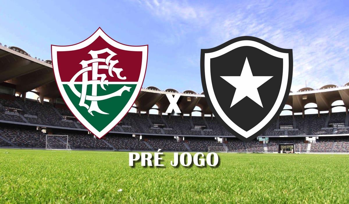 fluminense x botafogo campeonato carioca 10 rodada pre jogo