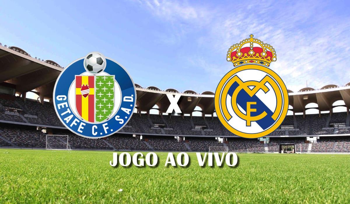 getafe x real madrid campeonato espanhol 2021 la liga 33 rodada jogo ao vivo