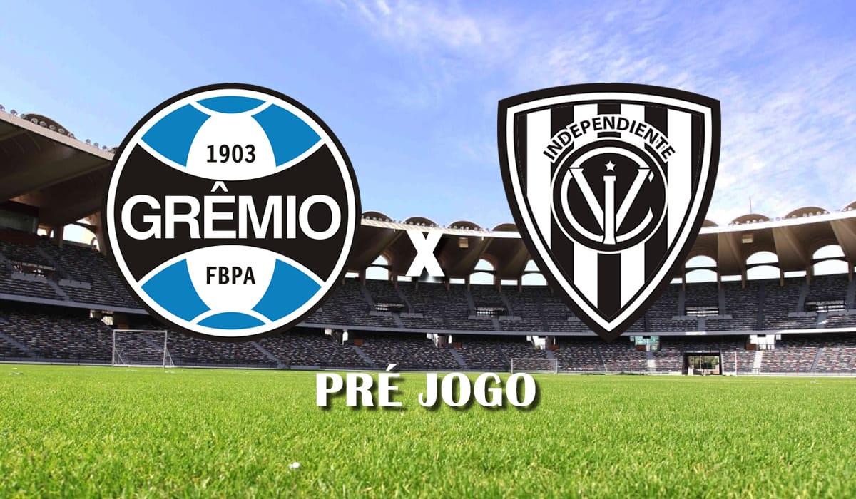 gremio x independiente del valle segundo jogo terceira fase pre libertadores 2021 pre jogo