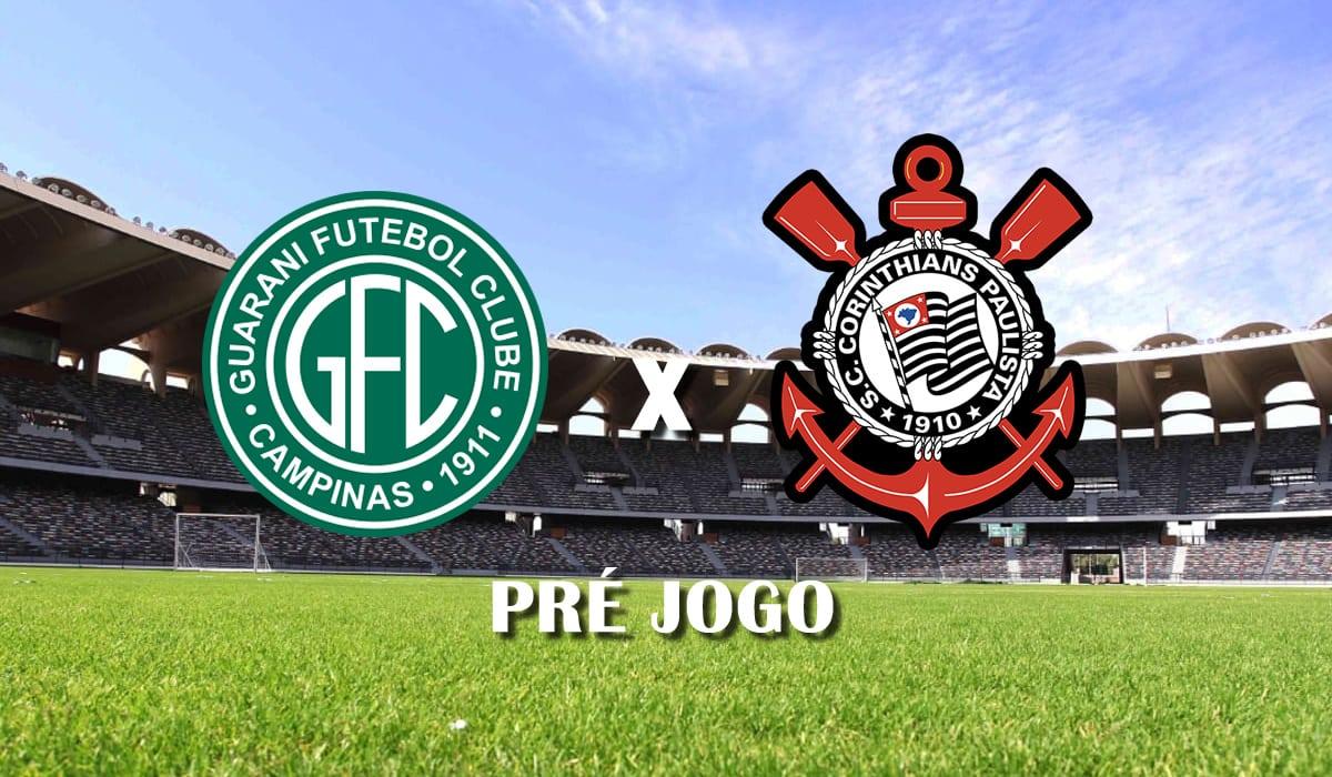 guarani x corinthians campeonato paulista 11 rodada pre jogo