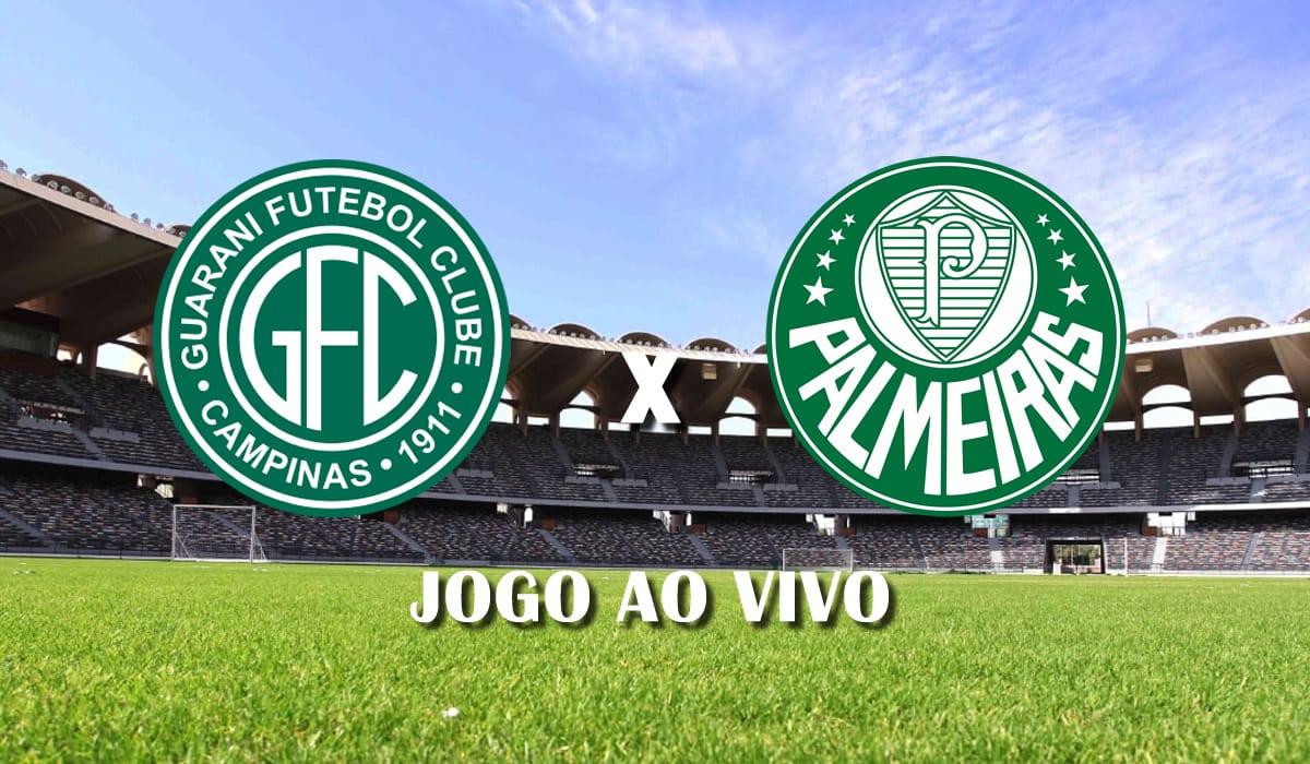 guarani x palmeiras campeonato paulista paulistao a1 7 rodada jogo ao vivo
