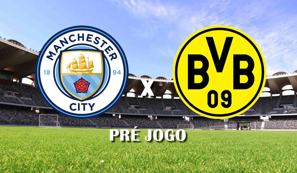 manchester city x borussia dortmund champions league quartas de final liga dos campeoes 2021 pre jogo