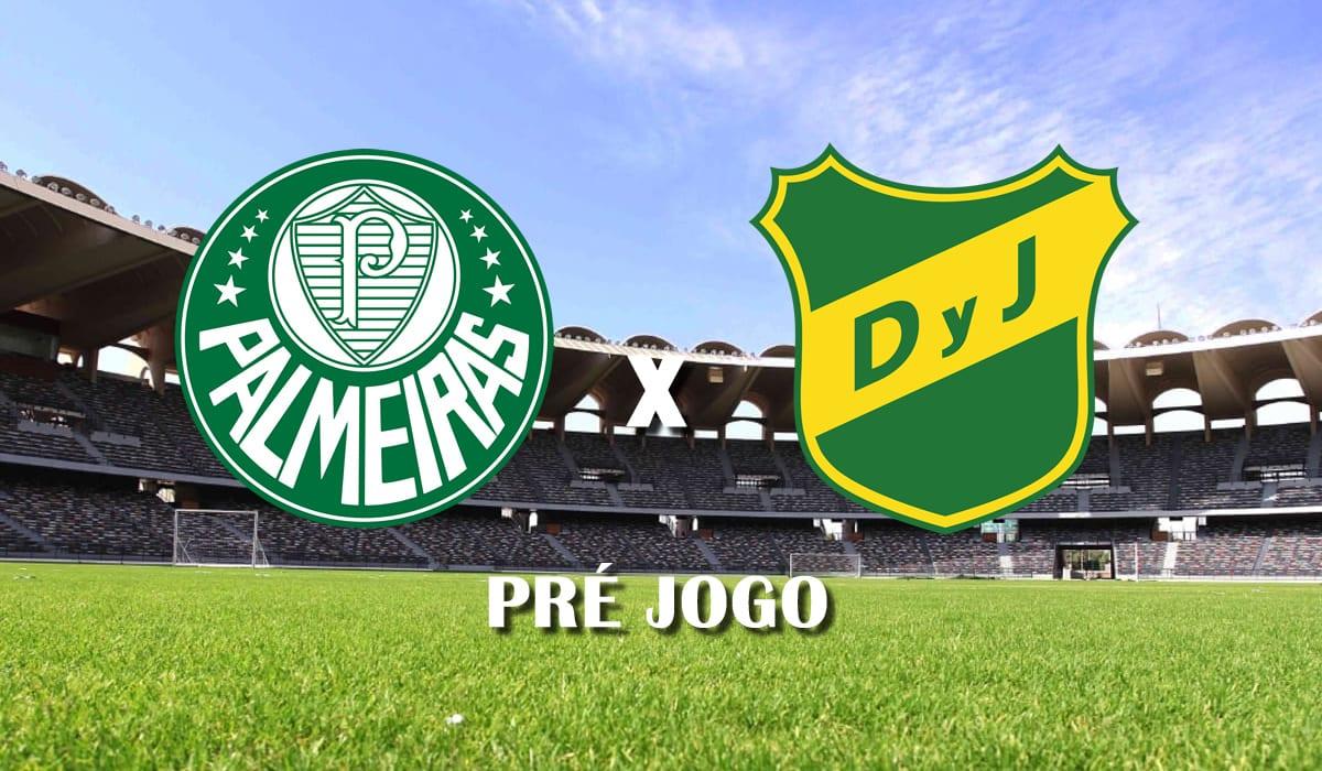 palmeiras x Defensa y Justicia final Recopa Sul-Americana 2021 pre jogo
