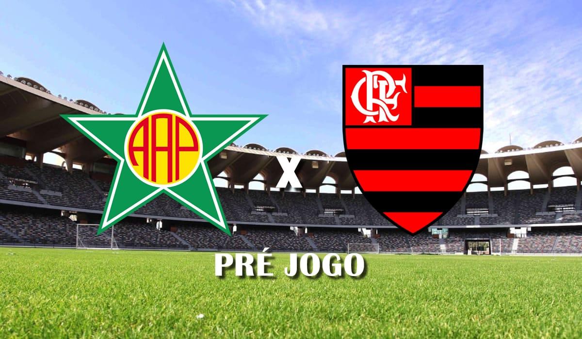 portuguesa rj x flamengo campeonato carioca 2021 taca guanabara 10 rodada pre jogo
