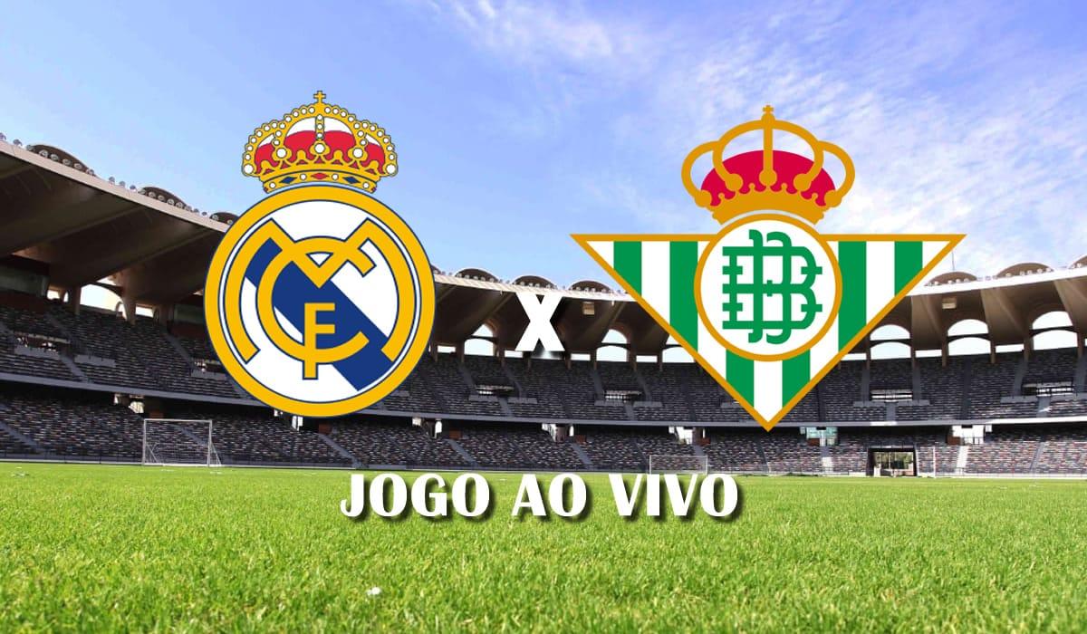 real madrid x real betis campeonato espanhol 2021 la liga 32 rodada jogo ao vivo