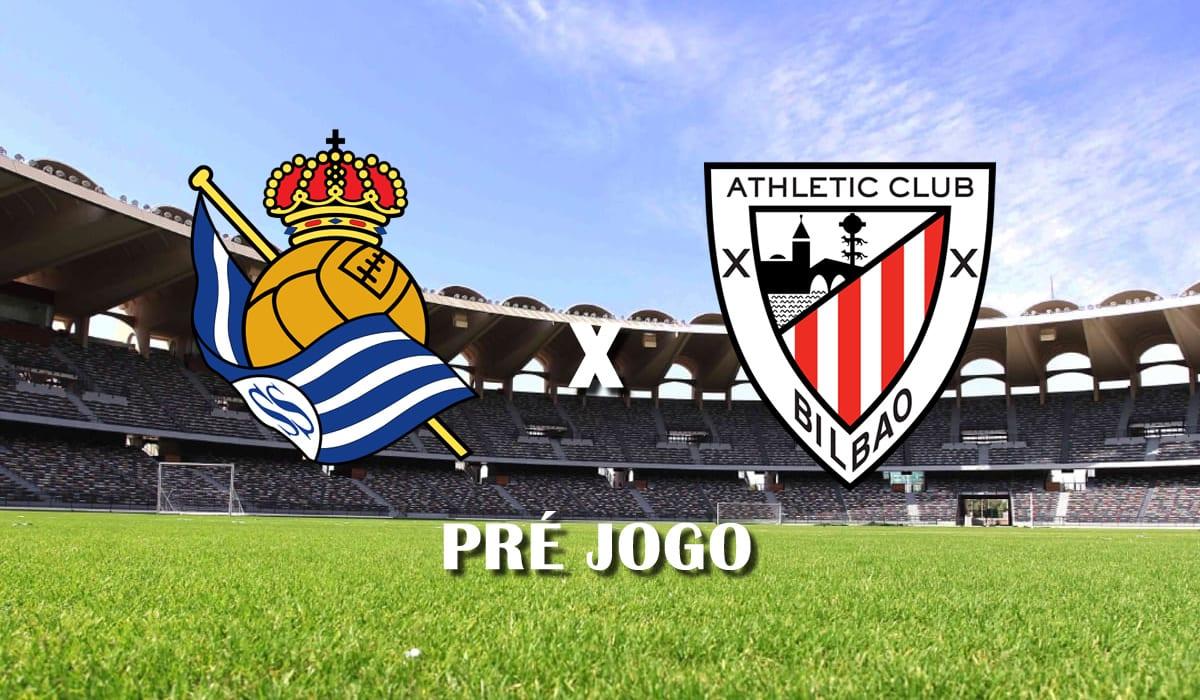real sociedad x athletic bilbao campeonato espanhol la liga 29 rodada pre jogo