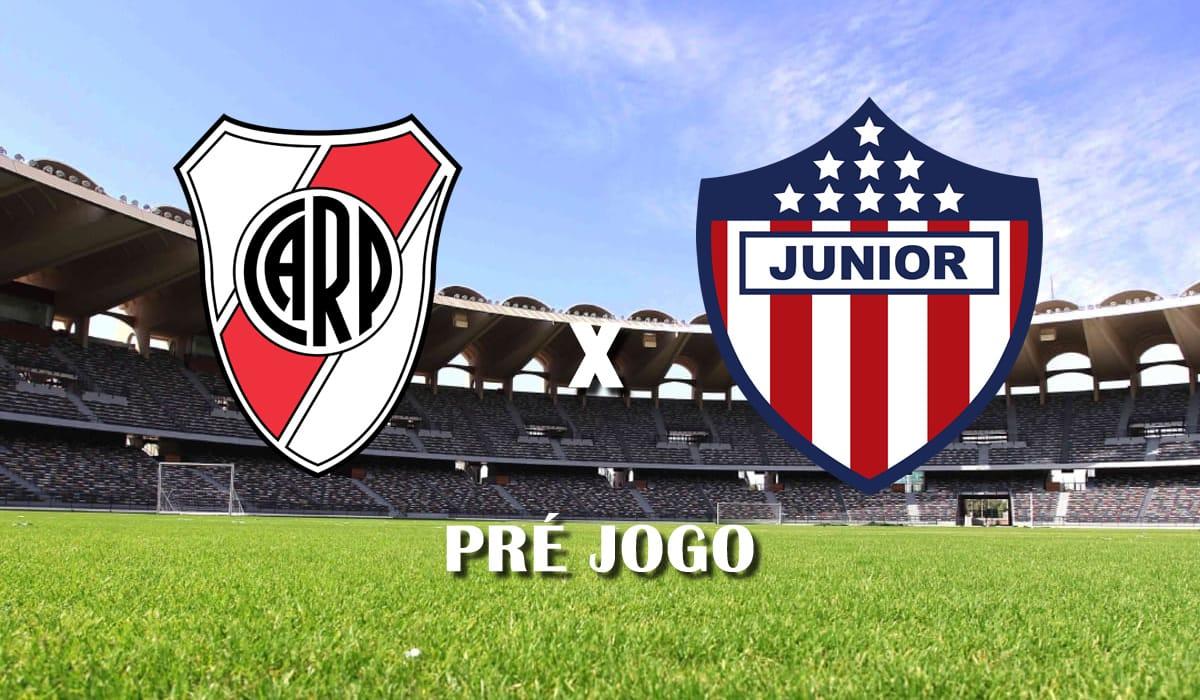 river plate x atletico junior barranquila segundo jogo copa libertadores da america 2021 pre jogo